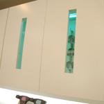 紫外線殺菌灯付印象トレーキャビネット